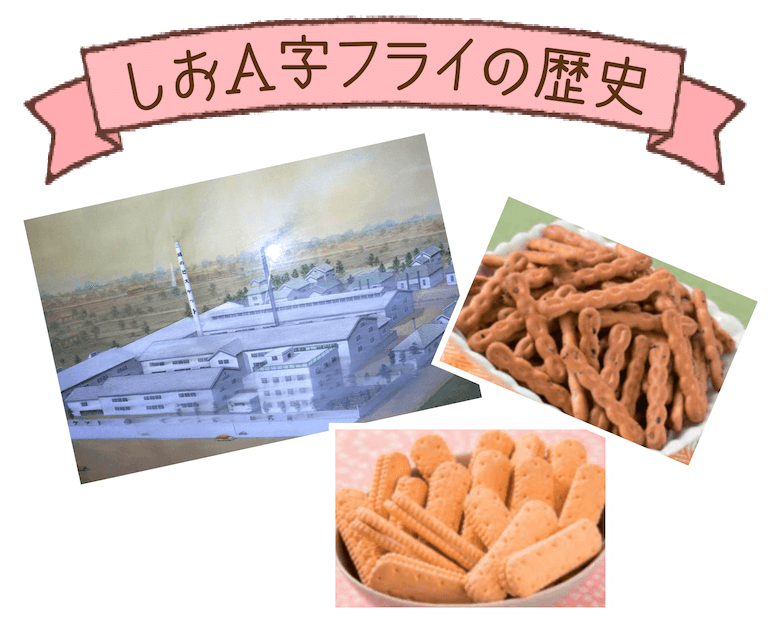 しおA字フライの歴史
